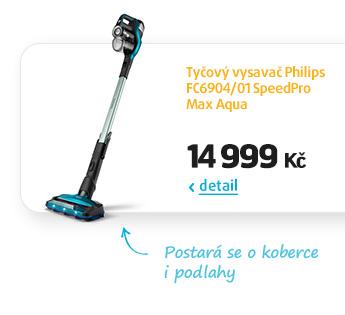 Tyčový vysavač Philips FC6904/01 SpeedPro Max Aqua