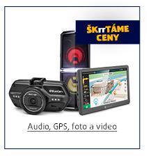 Audio, GPS, foto a video