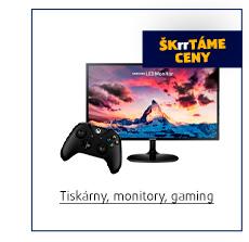 Tiskárny, monitory, gaming