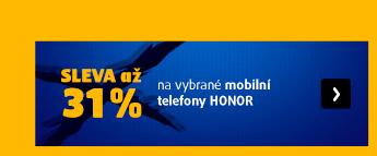 až 31 % Honor