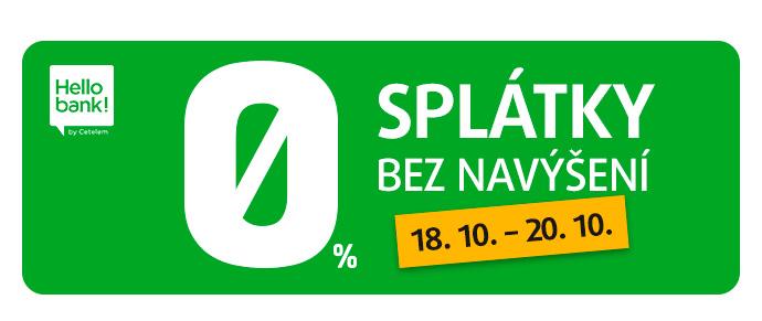 SPLÁTKY 0 %