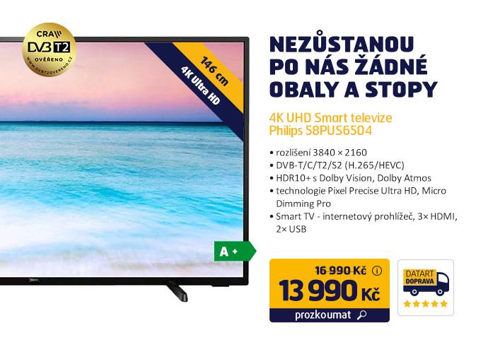 4K UHD Smart televize Philips 58PUS6504