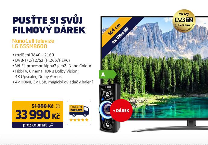 NanoCell televize LG 65SM8600