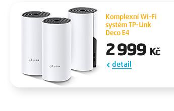 Komplexní Wi-Fi systém TP-Link Deco E4