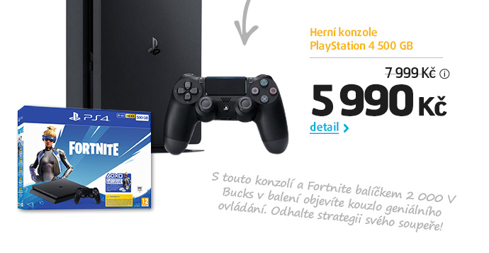 Herní konzole PlayStation 4 500 GB
