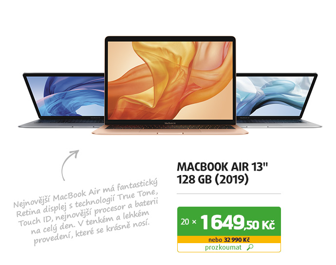 "MacBook Air 13"" 128 GB (2019)"