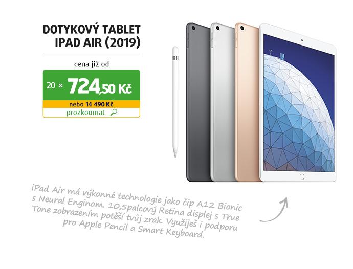 Dotykový tablet iPad Air (2019)