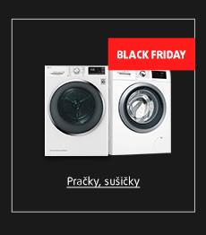 Black Friday: Pračky, sušičky
