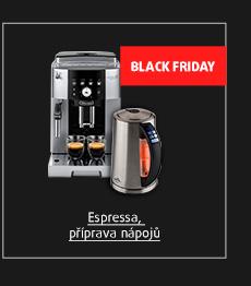 Black Friday: Espressa, příprava nápojů