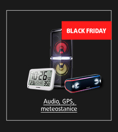 Black Friday: Audio, GPS, meteostanice
