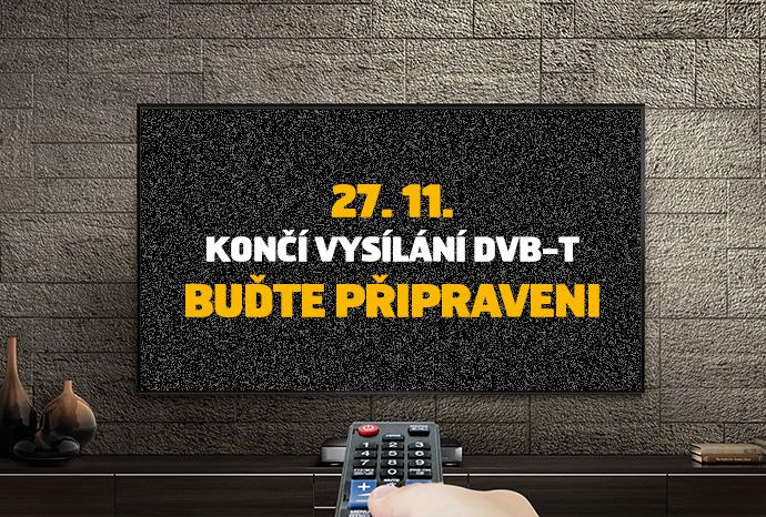27. 11. KONČÍ VYSÍLÁNÍ DVB-T