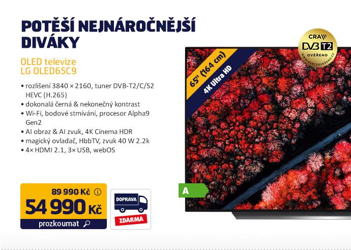 OLED televize LG OLED65C9