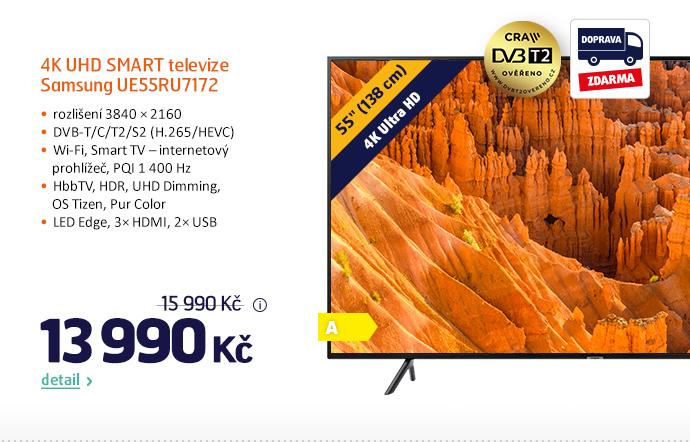 4K UHD Smart televize Samsung UE55RU7172