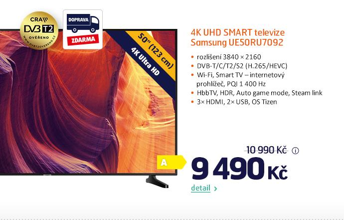 4K UHD Smart televize Samsung UE50RU7092