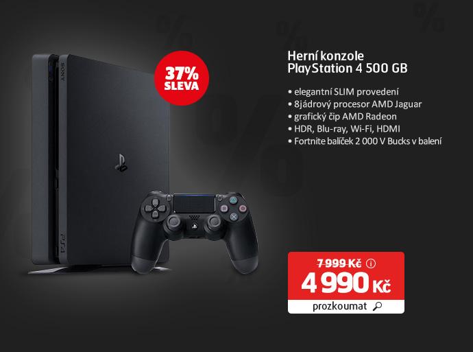 Herní konzole PlayStation 4 500 GB