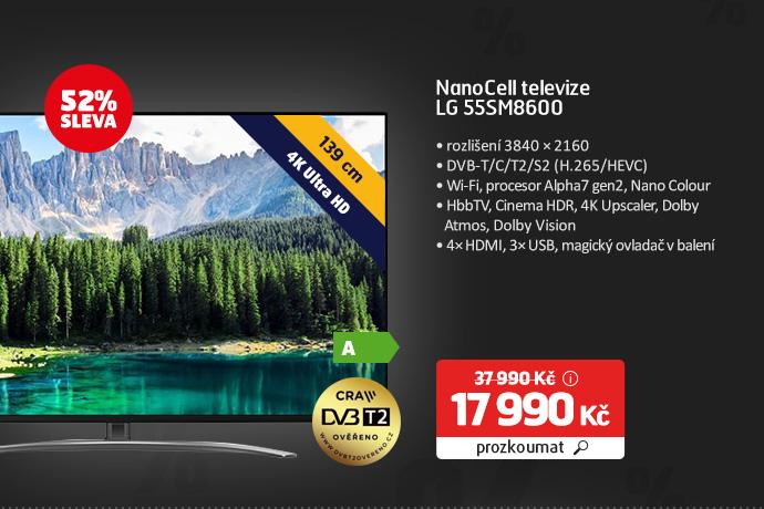 NanoCell televize LG 55SM8600