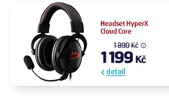 Headset HyperX Cloud Core