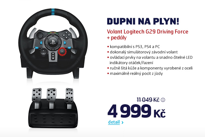 Volant Logitech G29 Driving Force + pedály