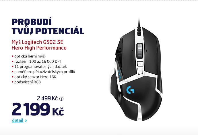 Myš Logitech G502 SE Hero High Performance