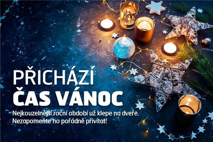 Přichází čas Vánoc