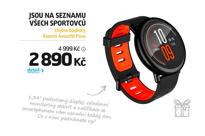 Chytré hodinky Xiaomi Amazfit Pace