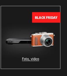 Black Friday: Foto, video, set-top boxy