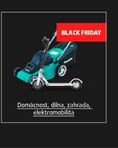Black Friday: Domácnost, dílna, zahrada, elektromobilita