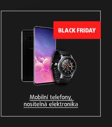 Black Friday: Mobily, nositelná elektronika