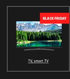 Black Friday: TV, Smart TV