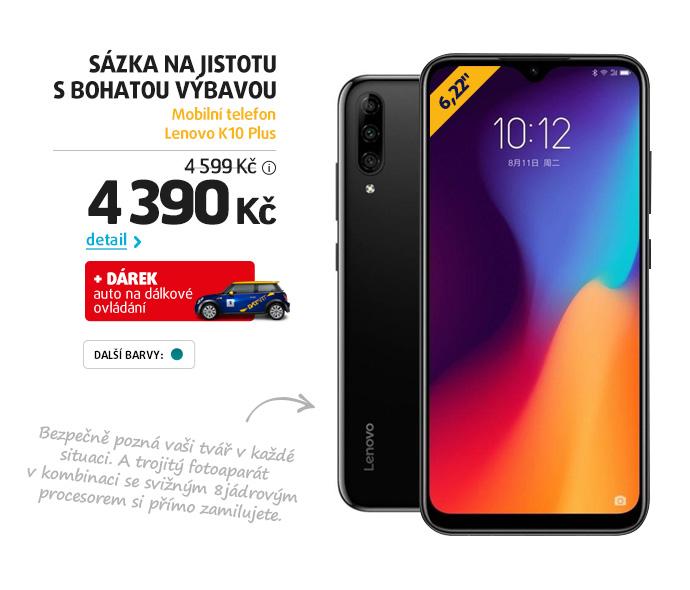 Mobilní telefon Lenovo K10 Plus