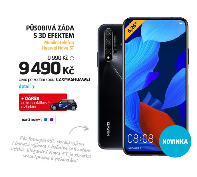 Mobilní telefon Huawei Nova 5T