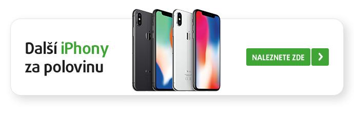 Další iPhony za polovinu