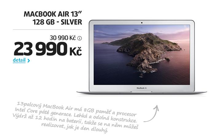 MacBook Air 13 128 GB - silver