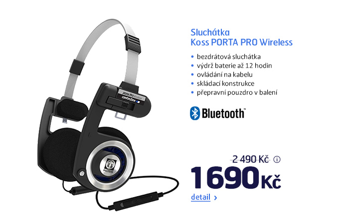 Sluchátka Koss PORTA PRO Wireless