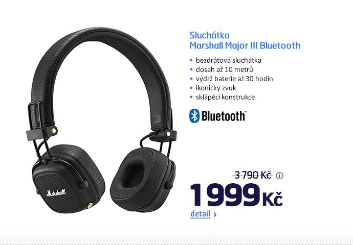 Sluchátka Marshall Major III Bluetooth