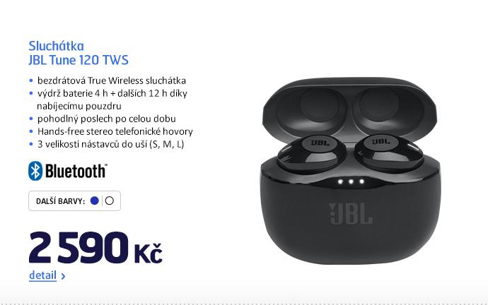 Sluchátka JBL Tune 120 TWS