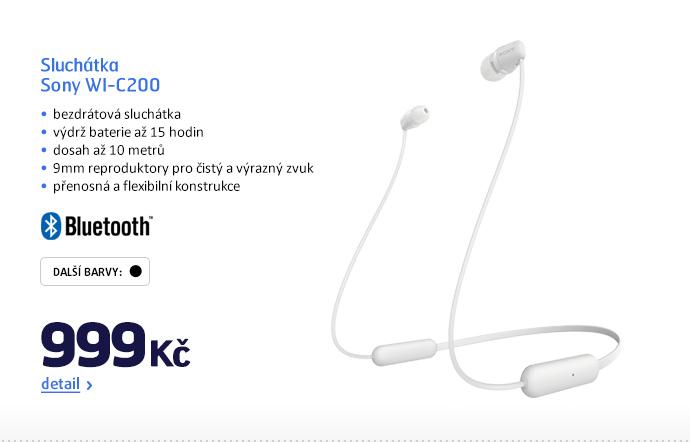 Sluchátka Sony WI-C200