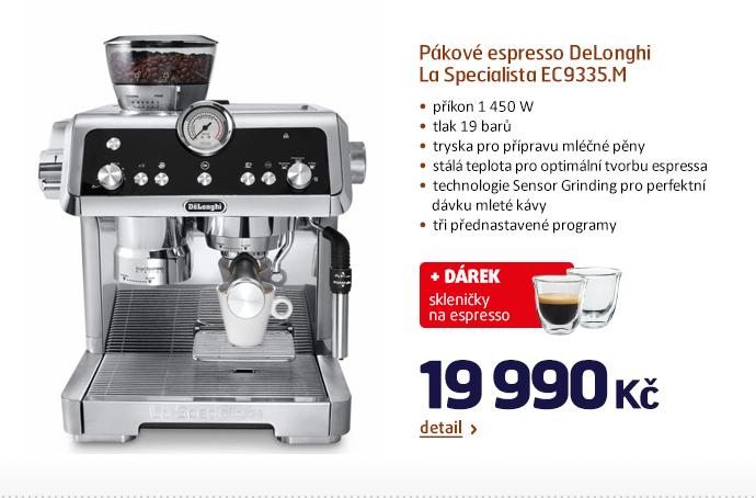 Pákové espresso DeLonghi La Specialista EC9335.M