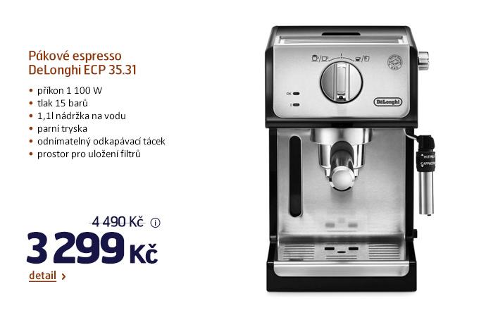 Pákové espresso DeLonghi ECP 35.31