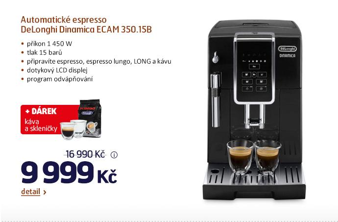 Automatické espresso DeLonghi Dinamica ECAM 350.15B