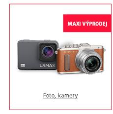 MAXI Výprodej: Foto, kamery