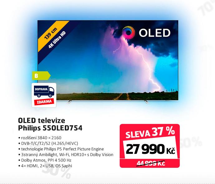 OLED televize Philips 55OLED754