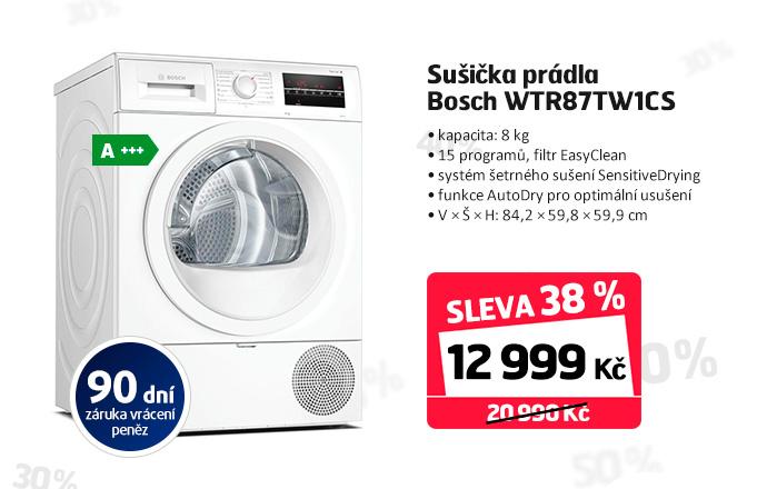 Sušička prádla Bosch WTR87TW1CS