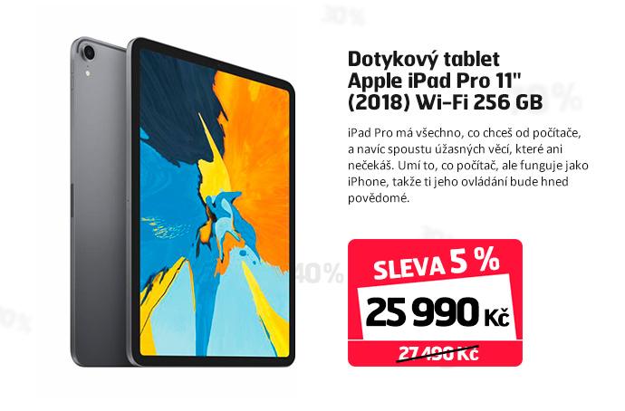 """Dotykový tablet Apple iPad Pro 11"""" (2018) Wi-Fi 256 GB"""