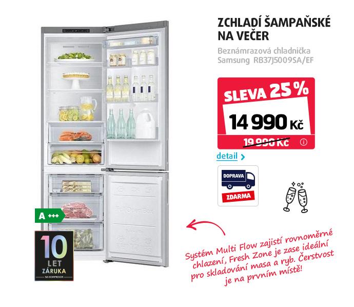 Beznámrazová chladnička Samsung RB37J5009SA/EF