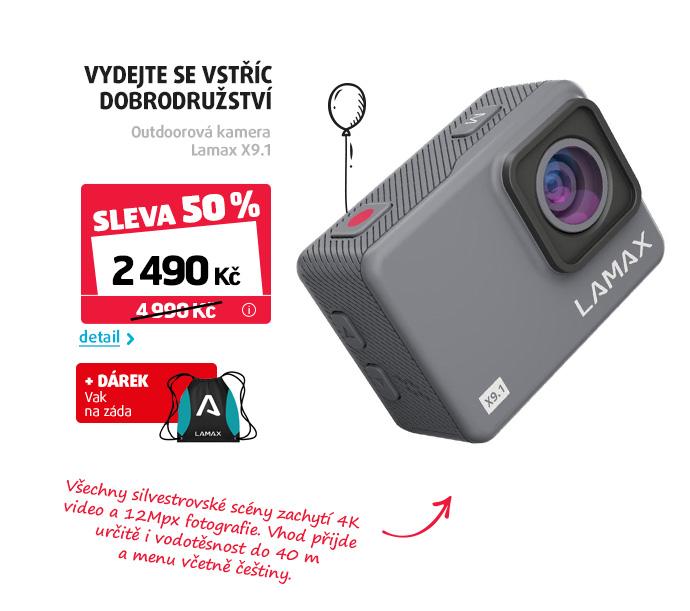 Outdoorová kamera Lamax X9.1
