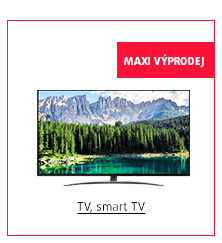 MAXI Výprodej: TV, Smart TV
