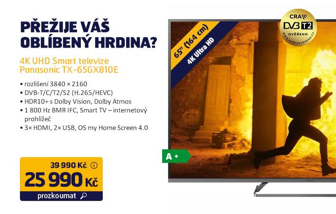 4K UHD Smart televize Panasonic TX-65GX810E