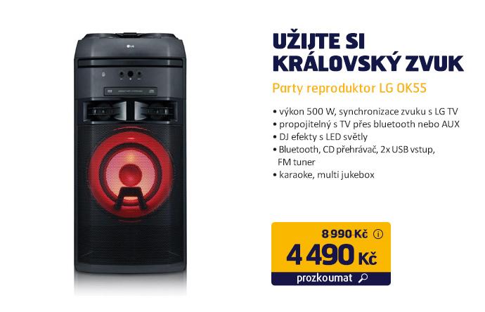 Party reproduktor LG OK55