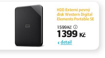 HDD Externí pevný disk Western Digital Elements Portable SE